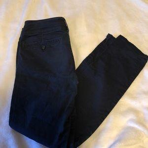 American Eagle navy blue pants